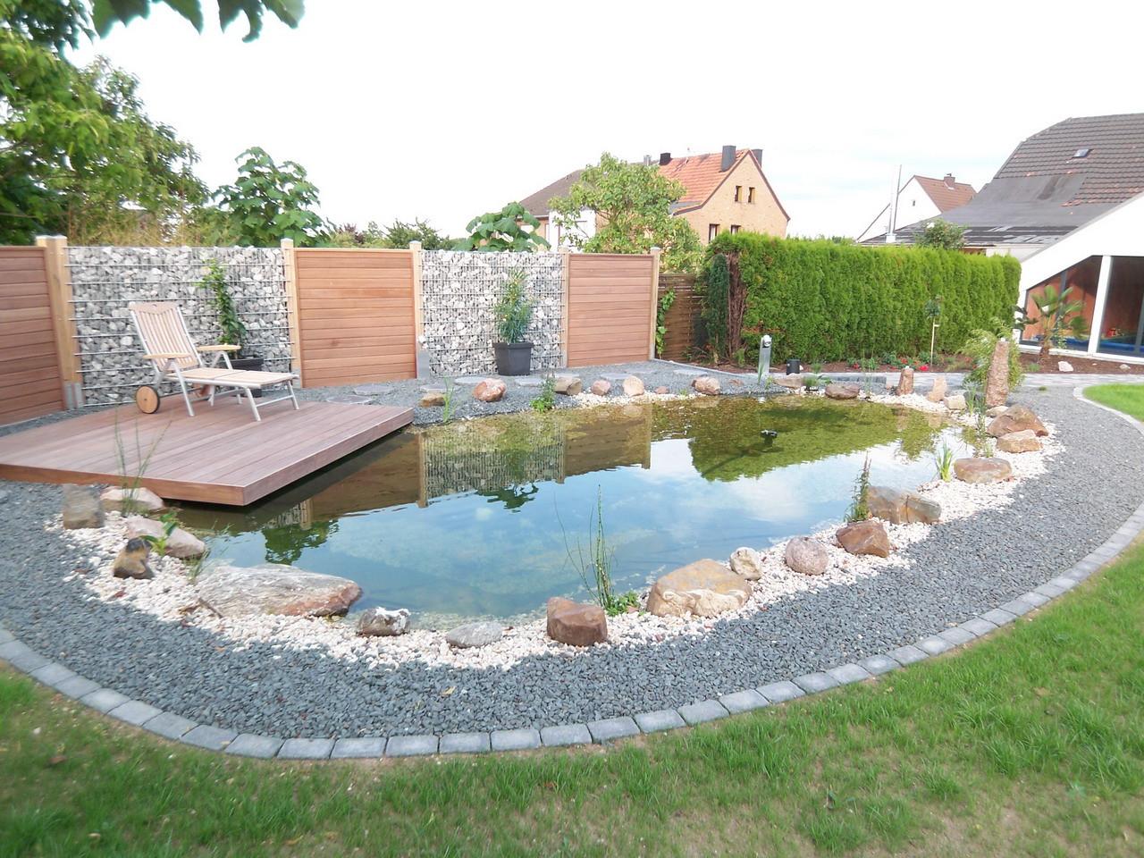 Wohnzimmerz Teich Terrasse With Im Sommer Ferienwohnung Albers In